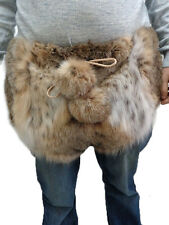 BRAND NEW MONTANA LYNX DOUBLE SIDED FUR SHORT PANTS MEN MAN