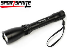 2x AA Battery CREE Q5 900 Lumens 3-mode Camping Outdoor LED Flashlight Torch