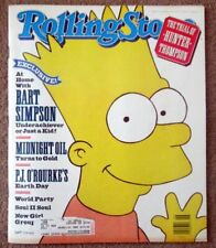 Rolling Stone Magazine #581- Bart Simpson - June 28, 1990