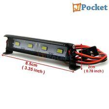 RC 1/10 Aluminum LED Light Bar 6 ~ 7.4V W/ JR Plug F TAMIYA AXIAL RC4WD Crawler