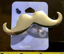 Claires Claire'S Ajustable Ring bigote oro Dble Dedo Joyería Rrp £ 4.50