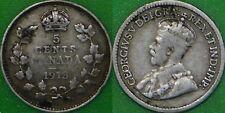 1913 Canada Silver Nickel Graded as Fine