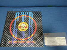 Guns N' Roses Use Your Illusion 1993 Tour Book Japanese Ticket Stub Program Axl
