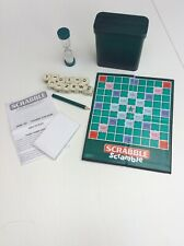 Travel Scrabble Scramble 2007. Complete. Great Condition.