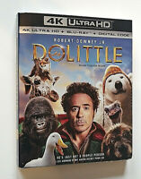 Dolittle 4L Ultra HD, Blu Ray with Slipcover Robert Downey Jr.