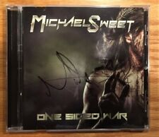 Michael Sweet - One Sided War (Autographed by Michael Sweet) Plus 4x4 Insert