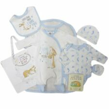 AW20  Baby Boys Guess How Much I Love You Layette Clothing & Book Gift Set *NEW*