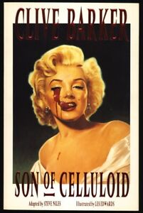 1991 CLIVE BARKER SON OF CELLULOID Eclipse MACABRE MARILN MONROE Cover 1ST PRINT