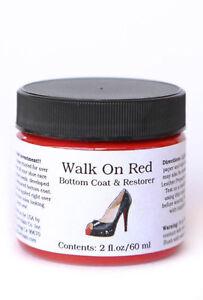 Angelus Walk On RED - Louboutin Shoes / Boot Sole/Edge Bottom Coat & Restorer