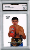 2015 Gennady Golovkin Ring Boxing Rookie Gem Mint 10