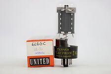 6L6-GC TUBE. UNITED ELECTRON BRAND. 1970´S. RE-BOXED. CRYOTREATED. CH2V1F240914.