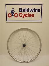 """26"""" REAR Mountain Bike Wheel DOUBLE WALL RIM - SILVER 8-9-10 Speed Cassette"""