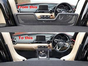Mazda MX-5 Mk4 ND Soft Top Acrylic Wind Blocker / Deflector Clear