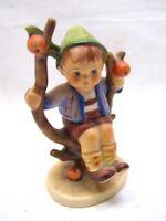 """Vintage Goebel Hummel Figurine Apple Tree Boy 4"""" 142 3/0 TMK 4"""