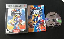 Sonic Heroes PS2 Play Station 2 Pal ESPAÑOL