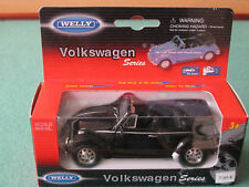 VW Käfer Beetle 1:34 - 1:39 Welly Pull Back & Go Action Doors To Open 42344