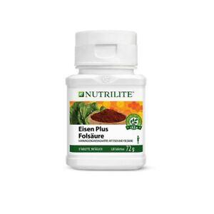 AMWAY NUTRILITE™ Eisen Plus Folsäure (120 Stück / 72g)