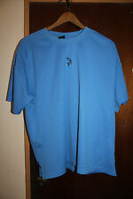 S032 Men's Athletic Blue Basketball Shirt Size Large Rn 70892 Polyester