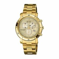 Citizen Eco-Drive Womens FB1342-56P Chronograph Yellow Gold Watch