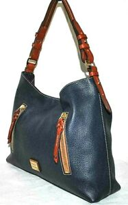 Dooney & Bourke Cooper Hobo Bag, Navy - $298