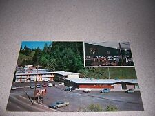 1960s EL DORADO MOTEL & CARRIAGE ROOM PLACERVILLE CALIFORNIA VTG POSTCARD