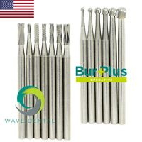 Dental Oral Surgical Bur Tungsten Carbide 25mm FG 1.6mm Round / Straight Fissure