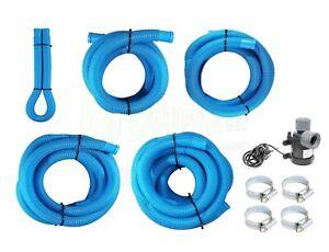 Swimming Pool Pipe Accessory 32mm Hose 1m 2m 3m 4m 5m Pump / Filter / Heater