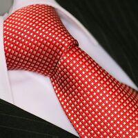 BINDER de LUXE KRAWATTE tie slips corbata cravatte Dassen Krawatten 330 Rot