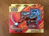 Pokemon TCG Ho-Oh Legendary Battle Deck Box NEW