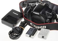 Canon EOS Rebel XSi / 450D DSLR camera +2 batteries | 27k clicks