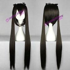 K-ON! Nakano Azusa cosplay wig black color