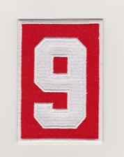 Gordie Howe Memorial Patch Detroit Red Wings # 9 Home Jersey 2016/17