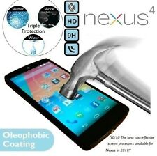 100% Genuine Premium Tempered Glass Screen Protector E960 For LG Google Nexus 4