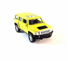 HUMMER H3 YELLOW WELLY 1/38 DIECAST CAR COLLECTOR'S MODEL,NEW