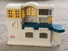 Vintage Little Tikes Dollhouse Country Kitchen Mini Plastic Furniture