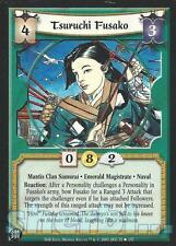 L5R Legend of the Five Rings Diamond TSURUCHI FUSAKO
