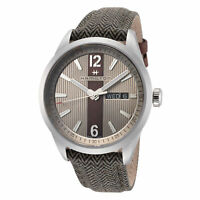 Hamilton Men's Broadway H43311985 40mm Silver Dial Leather Watch