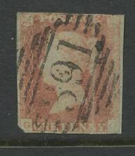 Numeral Cancellation Irish Stamps