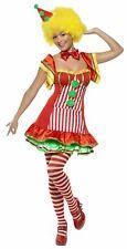 Women's Boo Boo The Clown Circus Fancy Dress Costume Hen Night Size Small (8-10)