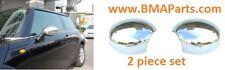 New Uro Mini Cooper 2002-2008 Chrome Mirror Covers 2Pc Set 971000