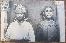 CPA INDOCHINE LAOS- ETHNOGRAPHIE - Jeunes Gens Méos Noirs - Collection Raquez