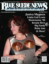 Blue Suede News 76 JANIVA MAGNESS Big Sandy Hootenanny