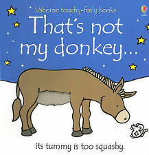 *BRAND NEW* THAT'S NOT MY DONKEY by FIONA WATT (Board book)