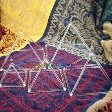 """quartz crystal singing bowls &3"""" 4"""" 5"""" 6"""" 7"""" 5pcs quartz crystal singing pyramid"""