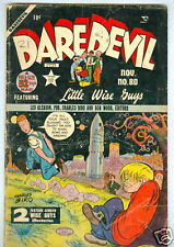 Daredevil #80 November 1951 Daredevil appearance