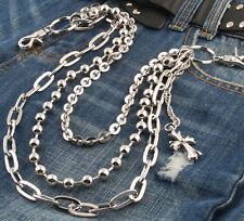 AK 3 Roof Biker Ball Jeans Wallet Key Holder Chains 72