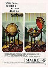 PUBLICITE ADVERTISING  1964    MAISON  MAIRE  à MARSEILLE  cristallerie orfèvr