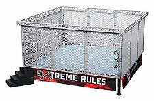 WWE Authentic Scale Ring with Modern Steel Cage Match