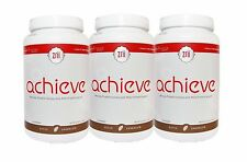 3 Zrii Achieve (Dutch Chocolate) Mix Soy Protein Isolate Weight Management Shake