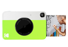 Kodak Printomatic Digital Instant Print Camera (Neon Green), Full Color Print...
